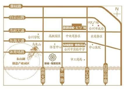 海棠花苑位置图