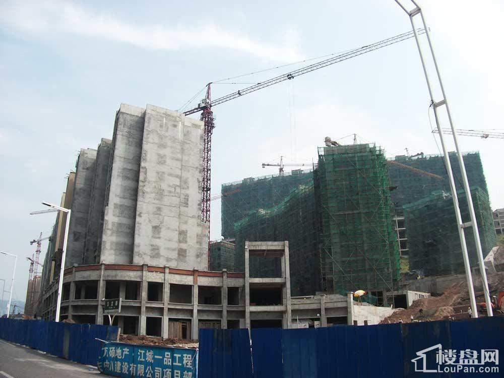 万硕江城一品实景图