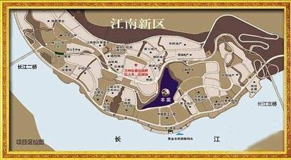 万硕江城一品位置图