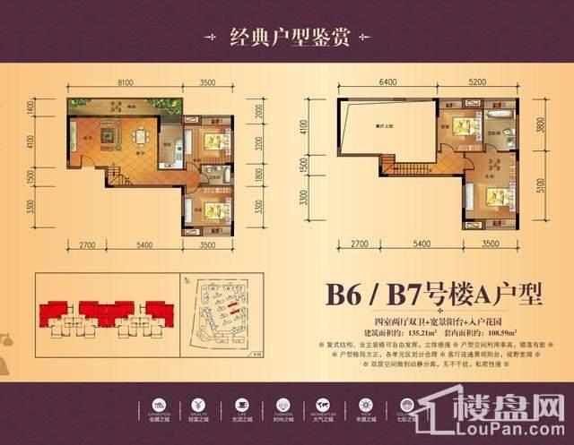 B6/B7号楼A户型