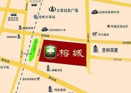 榕城世家位置图