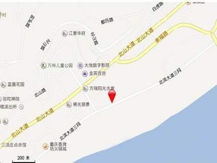 科友北滨华府位置图
