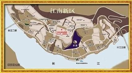万硕江城一品别墅位置图