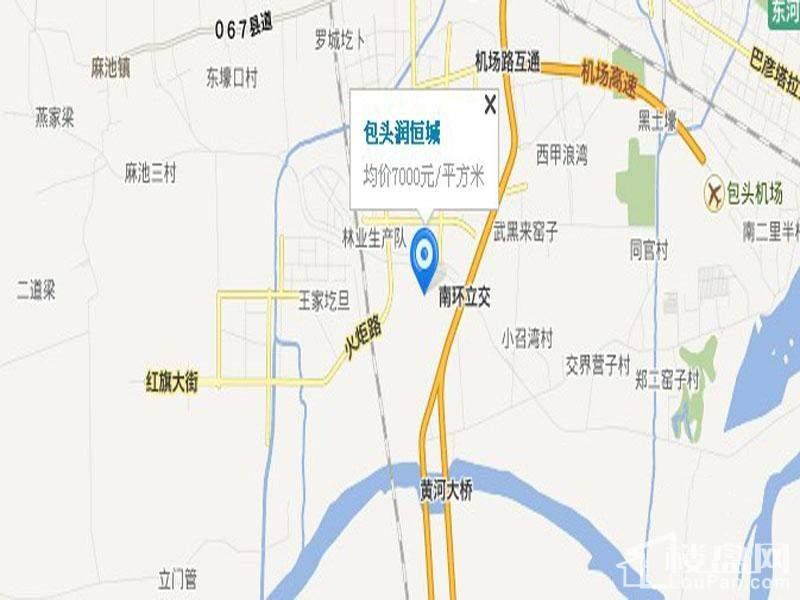 润恒城区位图