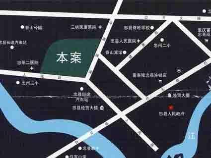 弘海名都位置图