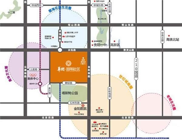 华润国际社区位置图