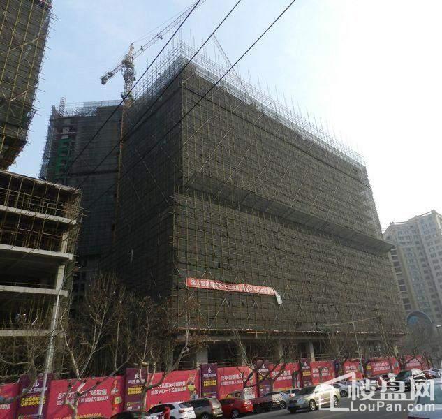 浩博香港城一期施工进度实景图(2014-3-4)