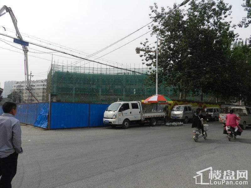 万锦皮革城二期施工进度图(2014-05-19)