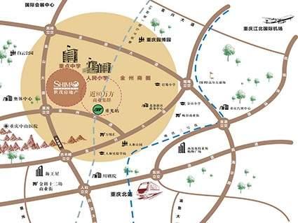 世茂珺悦府位置图