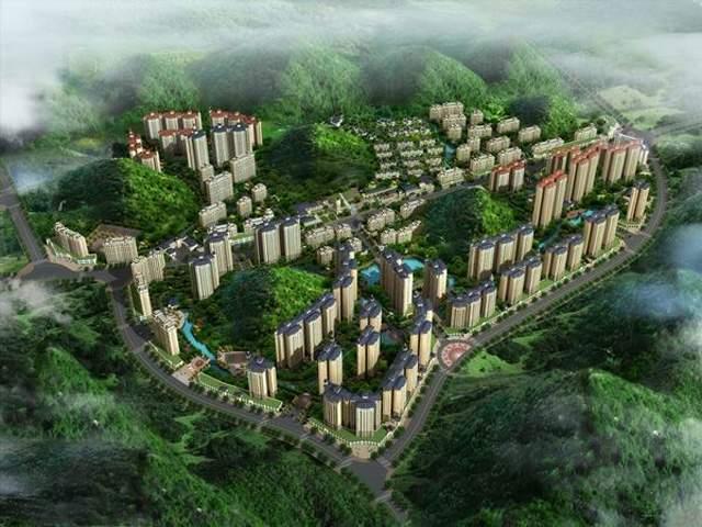 华荣生态城效果图
