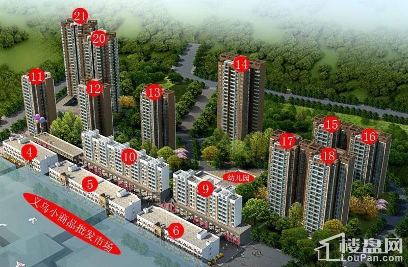 义乌鑫城效果图