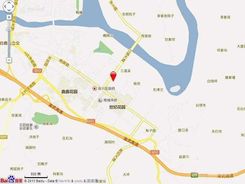 金九城位置图