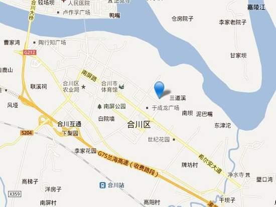 三江希望城位置图