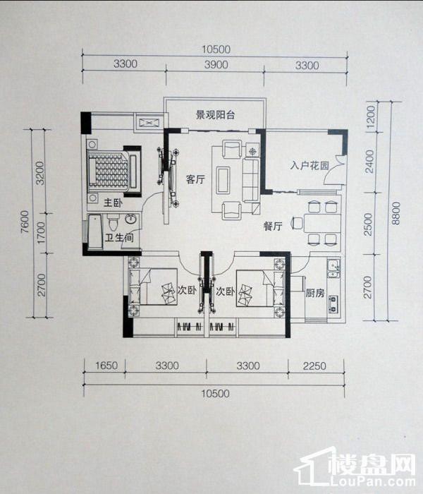 三江希望城户型图