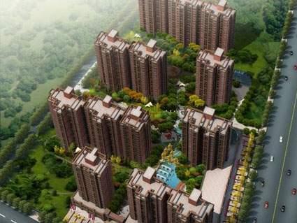 北辰桂园实景图