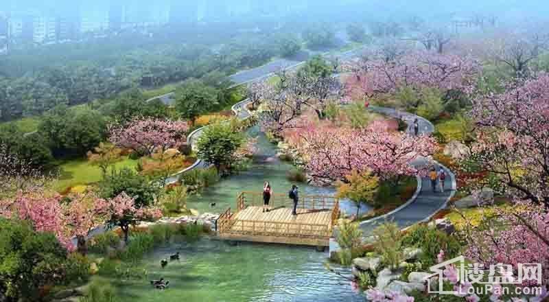 重庆桃源居国际花园效果图