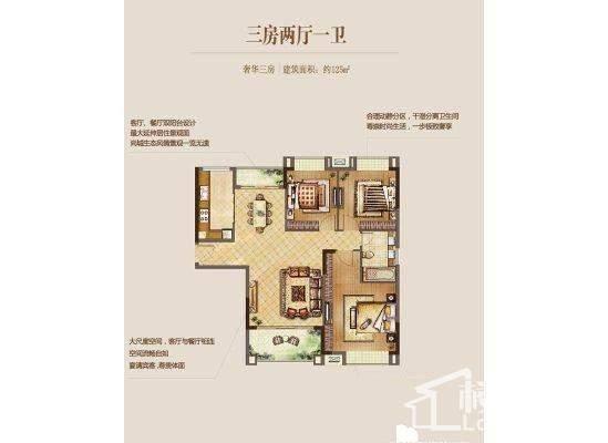 中国铁建·东来尚城户型图