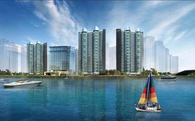 滨海建筑快题设计手绘
