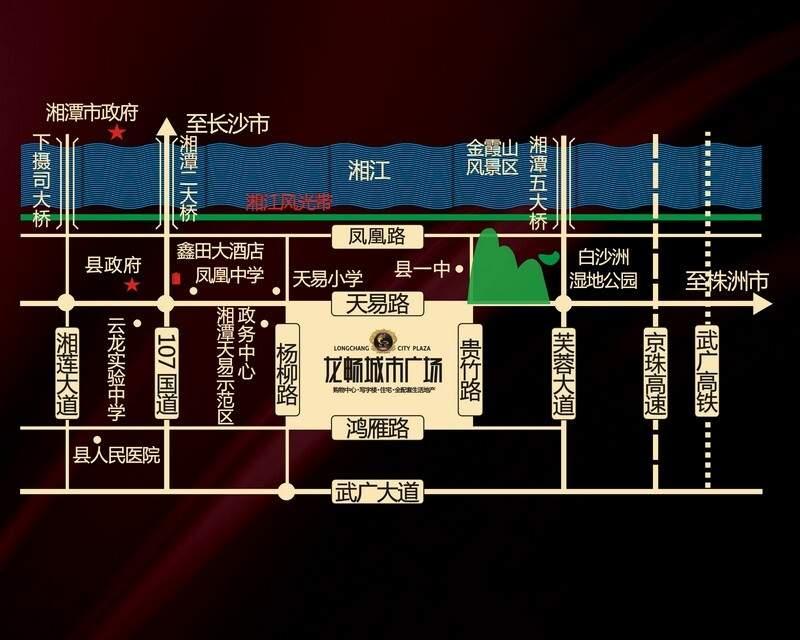 龙畅城市广场位置图