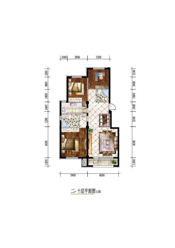 后英 三江源户型图