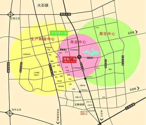 涌金广场位置图