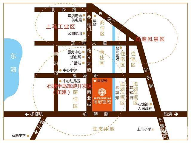 佳宏铭苑位置图