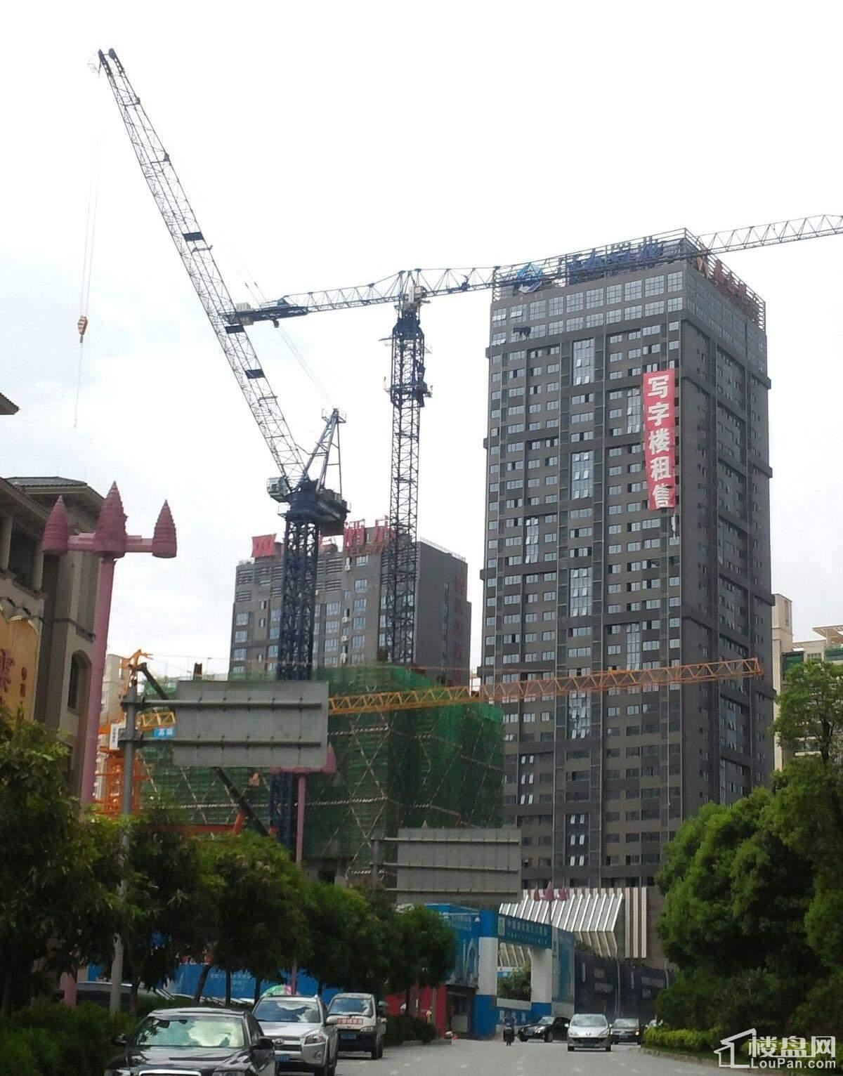 龙光世纪大厦工程建设已经建到6层 最新进展图