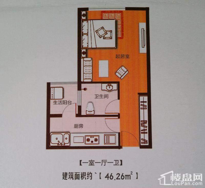 壹号广场户型图