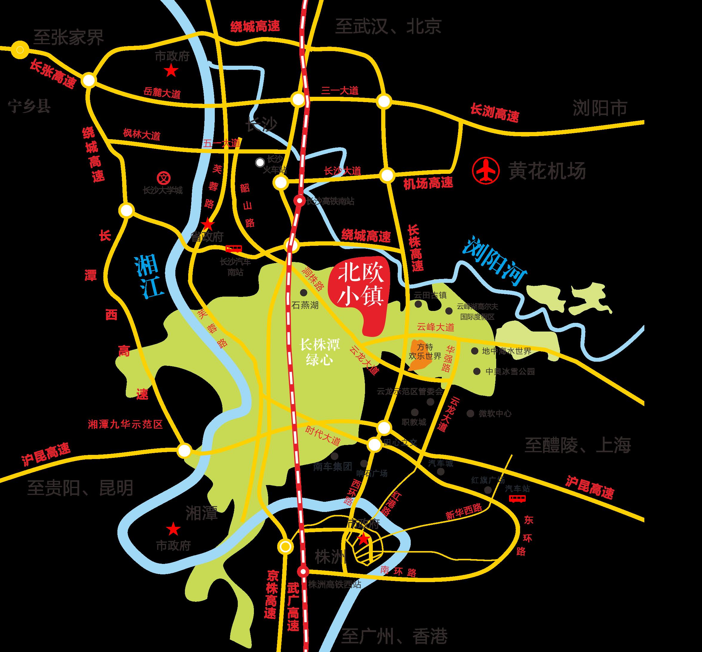 北欧小镇位置图