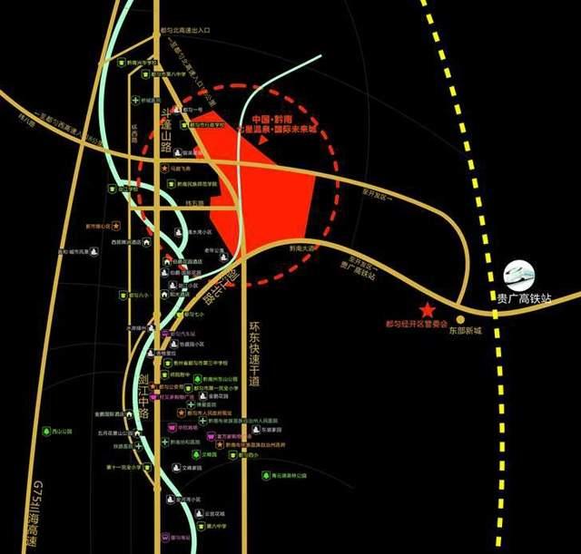 七星未来城位置图