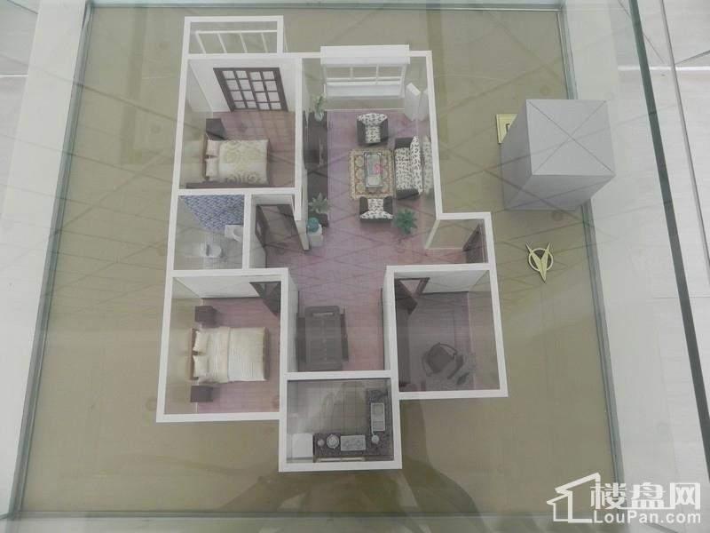 三室两厅模型