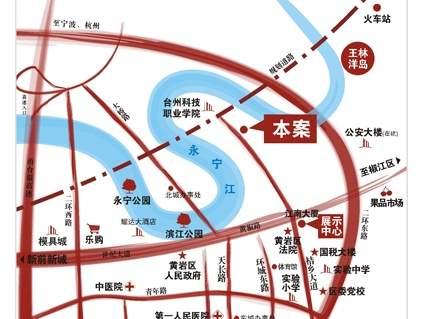江南世家位置图