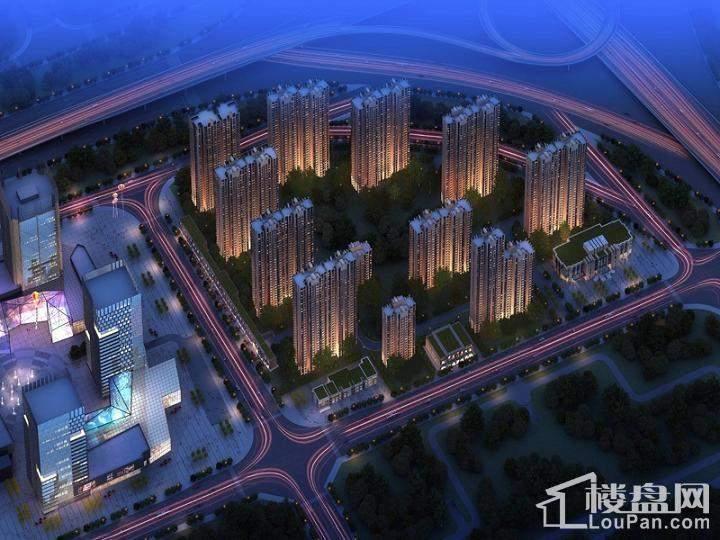 汇泉西悦城效果图