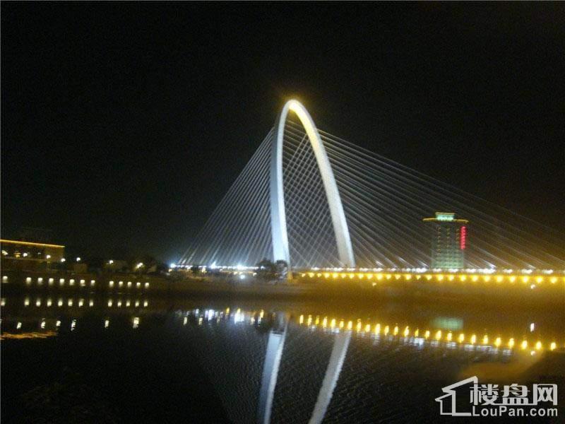 旺海公府周边夜景配套