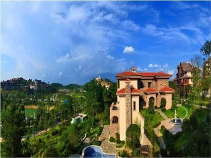 中铁国际旅游度假区实景图