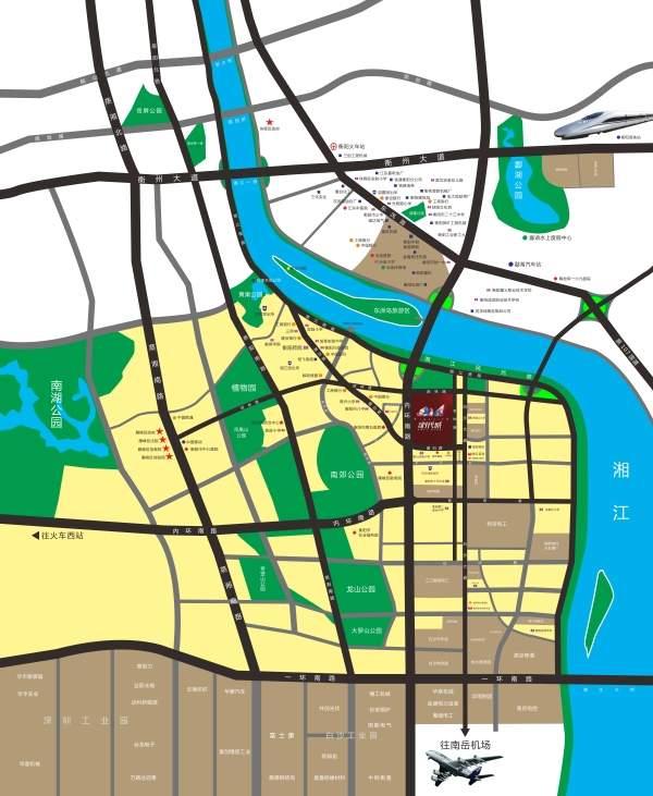 金钟·时代城位置图