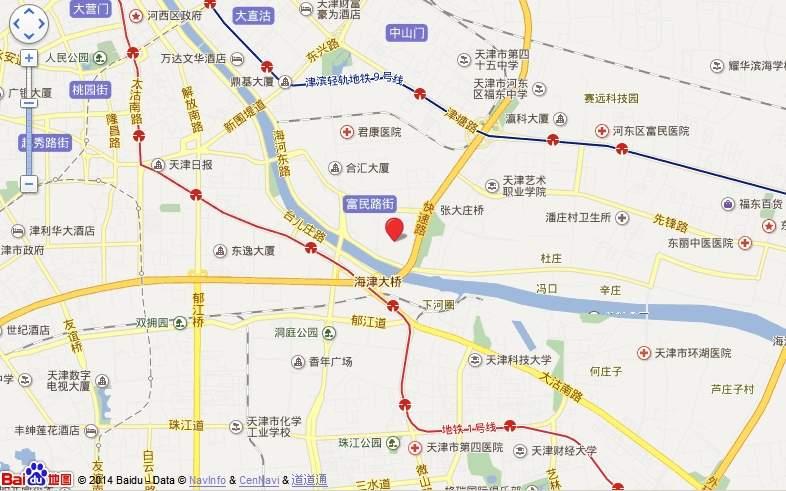 天津恒大帝景位置图