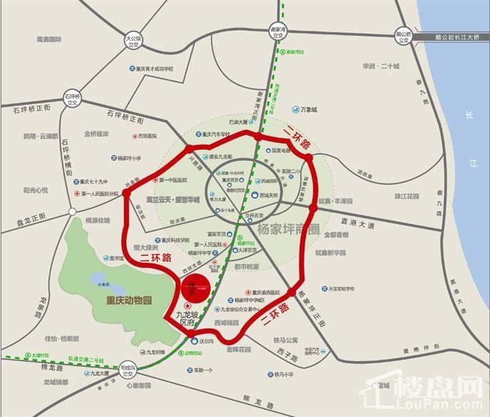 锦怡国际位置图