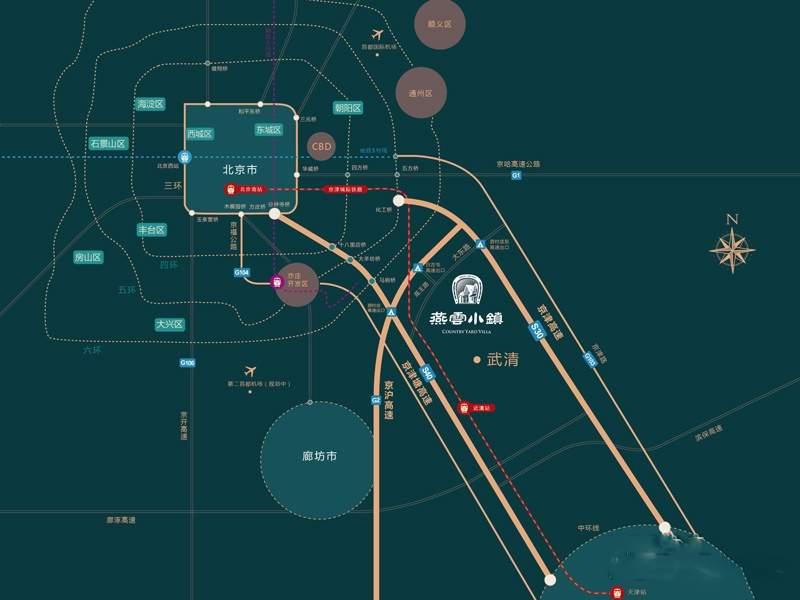 燕云小镇位置图
