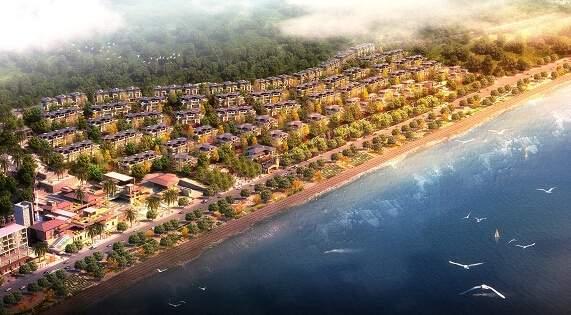 花滩国际新城·花漫里效果图