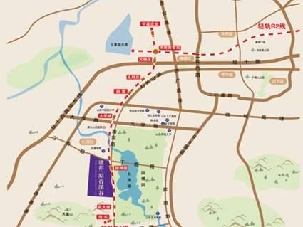 建邦原香溪谷位置图