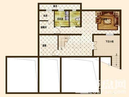 别墅A01户型负一层