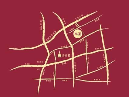 名辉豪庭位置图
