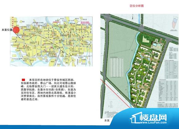 泰山·新兴园位置图