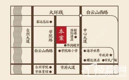 江南首府位置图