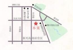 新泰花苑位置图