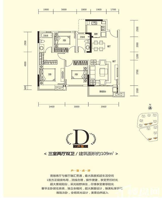 华润国际社区户型图
