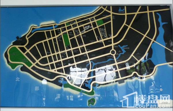 未来城位置图