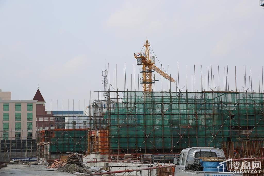 2014年9月份施工进度图