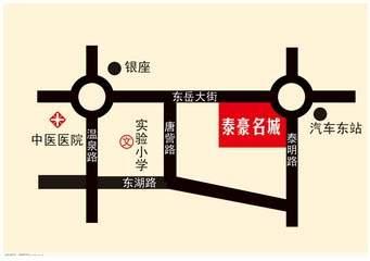 泰豪名城位置图